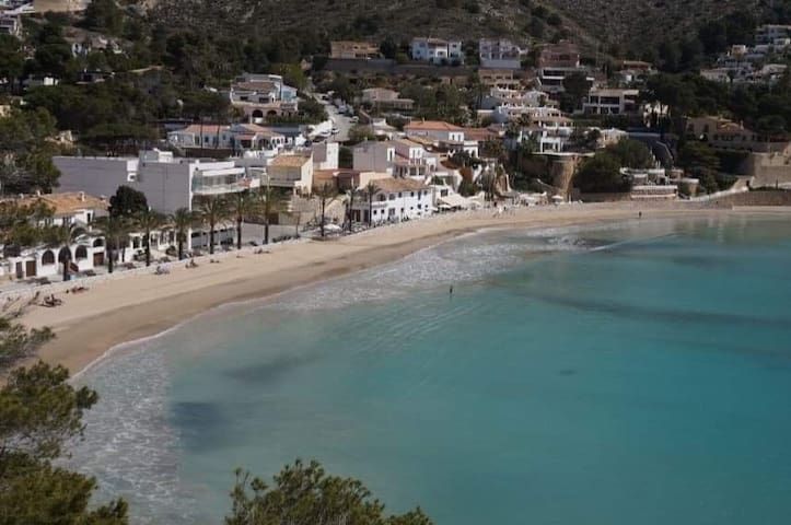 Rooms to let in picturesque el Portet