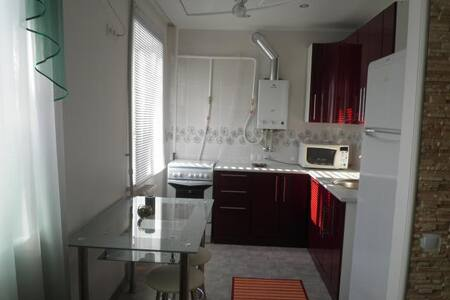 Beautiful new studio in the center - Horlivka - Appartement