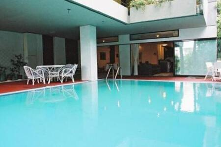 Furnished/serviced pool apartment - East Attica