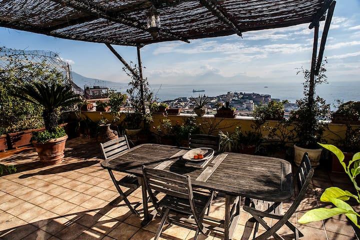 Appartement terrasse vue du golfe - Neapel - Lägenhet