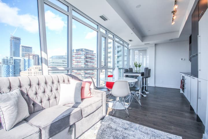 Elegant 2BR, 2Bath with Breathtaking City View
