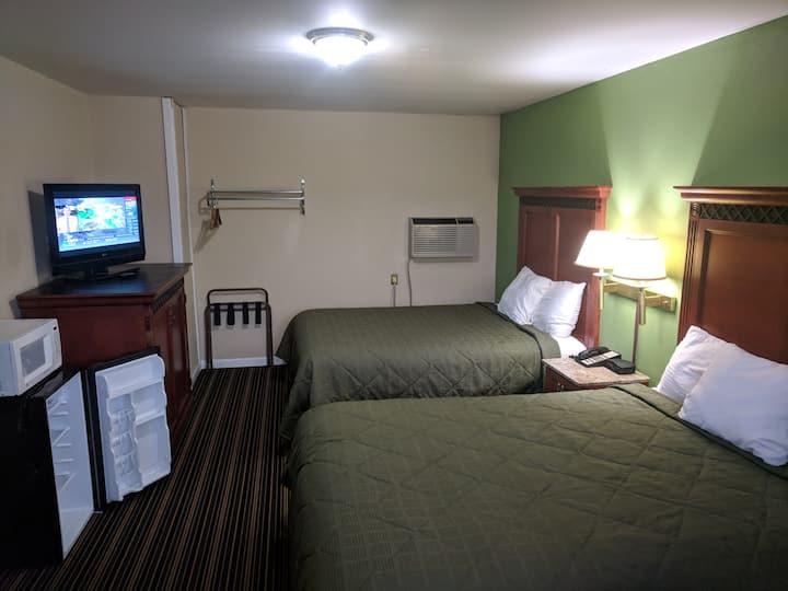 Benton inn    2 Queen bed