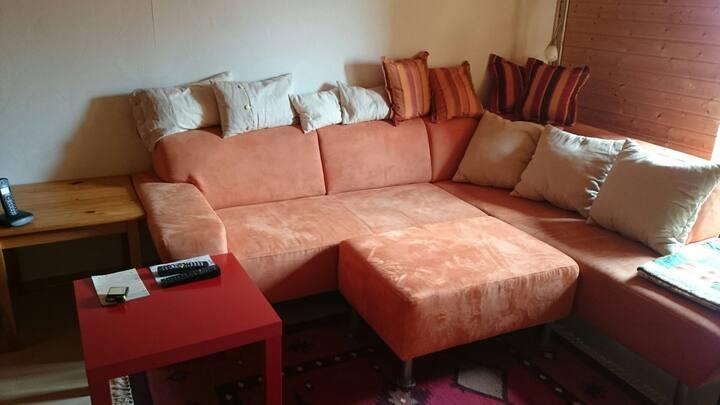 Sonniges Zimmer mitten in der City & ruhig :-))