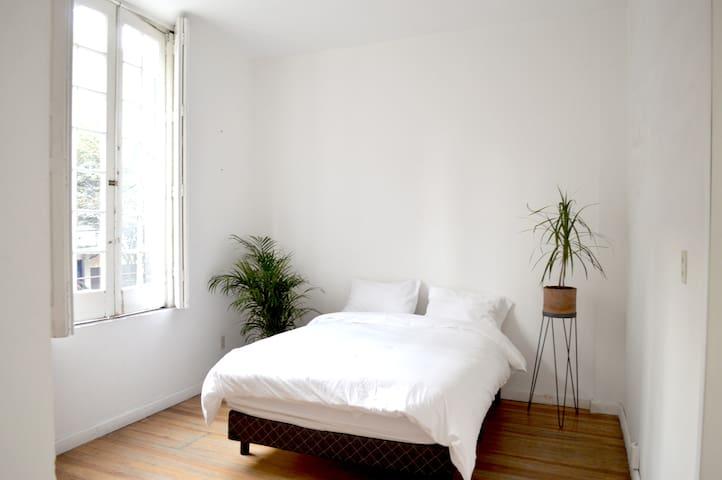 Super bright room in La Roma! - Ciudad de méxico - Apartament