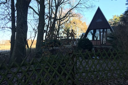 get-away-cabin from berlin // finnhütte in Brabu - Stechow-Ferchesar - Бунгало