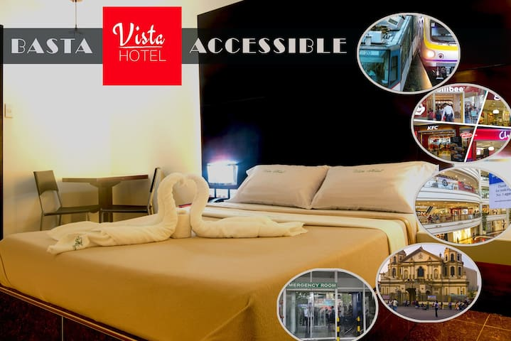Vista Hotel Cubao TRAVELERS #1 CHOICE DECENT PLACE