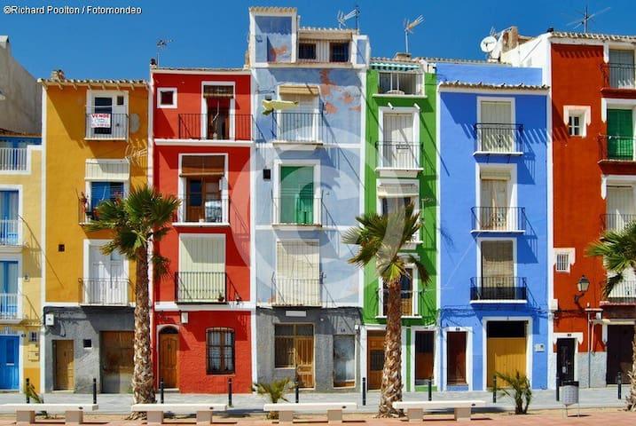 CASA JOYOSA -APP 2 MINS TO BEACH-5P - La Vila Joiosa - Apartment