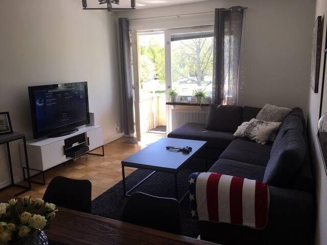 Central lägenhet som ligger nära till det mesta!