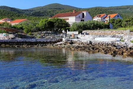 One bedroom apartment near beach Kneža, Korčula (A-4366-b) - Račišće - 公寓