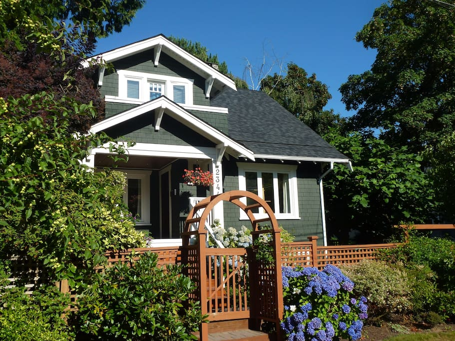 Beautiful character home in a very walkable location in Kitsilano