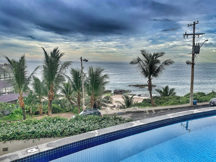 Brand New Beach View Apart Incredible Location