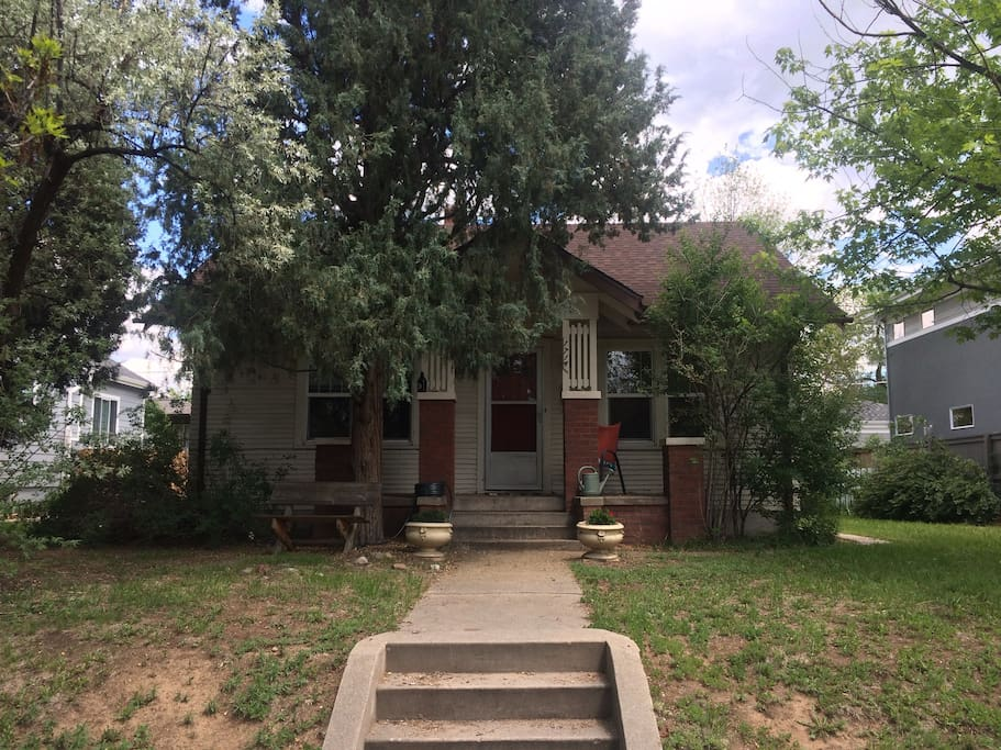 1 bedroom 1 bath near du lightrail and pearl st houses One bedroom house for rent denver