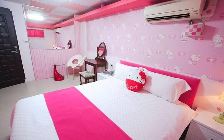 凱蒂貓2人房Double Room
