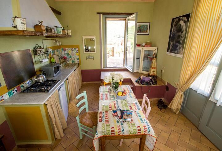 La Pineta: a super bright apartment near Perugia