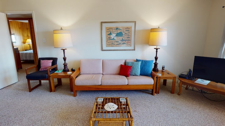 Beachfront Condo with Ocean View, Boardwalk Access and 2 Pools