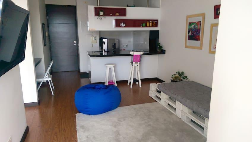 Acogedor apartaestudio - Bucaramanga - Квартира