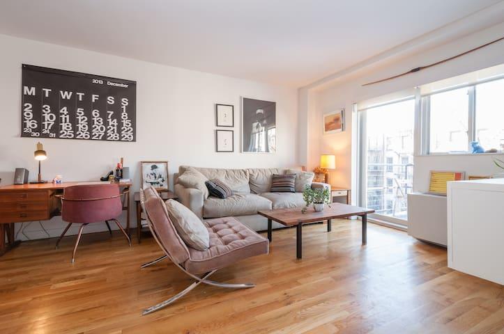 LARGE PRIVATE BED + BATH, LES - Nova York - Apartamento