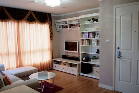 Wow! Decorated 1 BR high-rise apt. - Nonthaburi - Apartmen