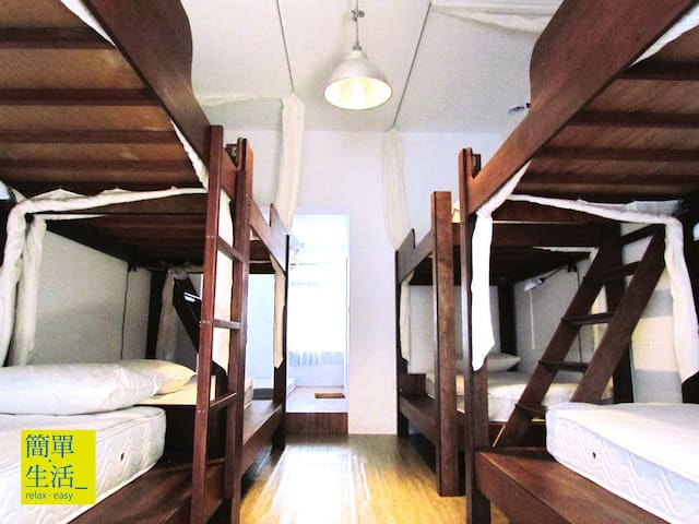 舒適的上下舖單人床位   附早餐 - Hengchun Township - Bed & Breakfast