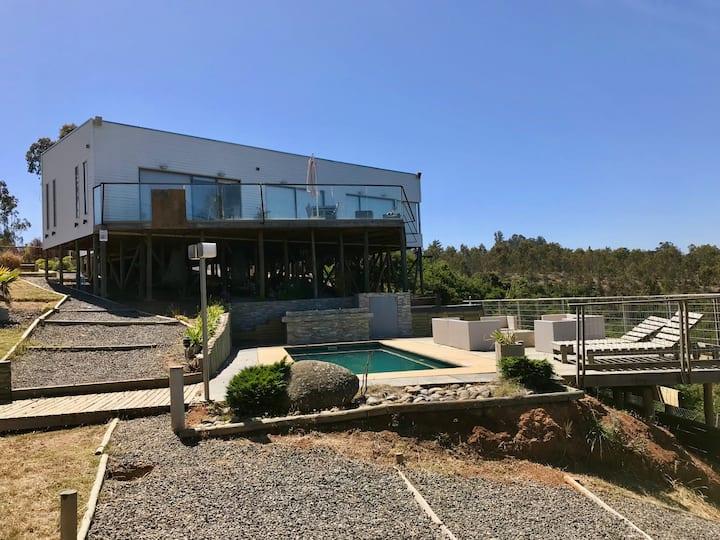 Casa en Tunquen, sector de descanso y vacaciones