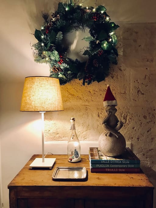 A warm Christmas atmosphere