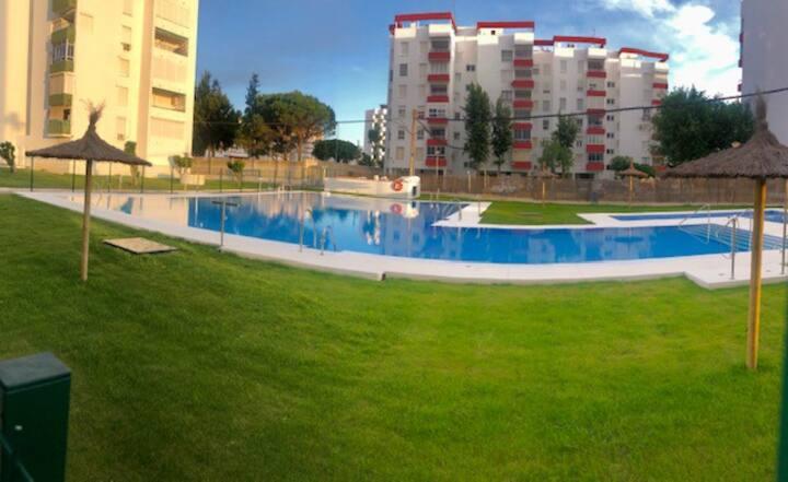 Villa Verano (playa , parking y piscina)