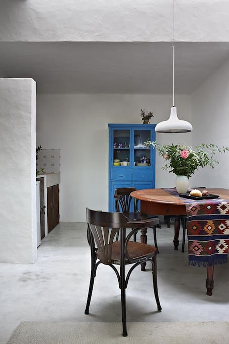Interior with fresh colours