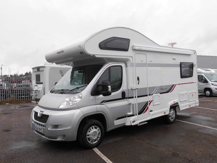 Beautiful 4 Berth Motorhome