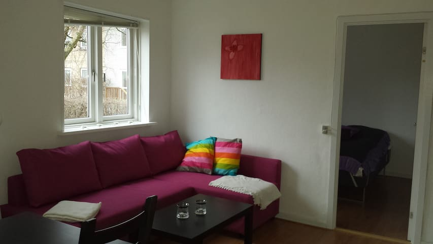 Nice refurbished apartment - Lyngby - Flat