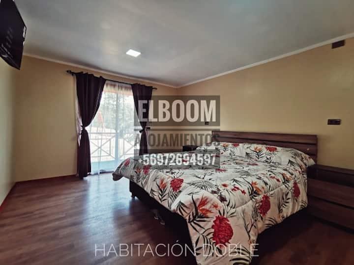 Alojmiento El Boom (Habitación Doble Número 3)