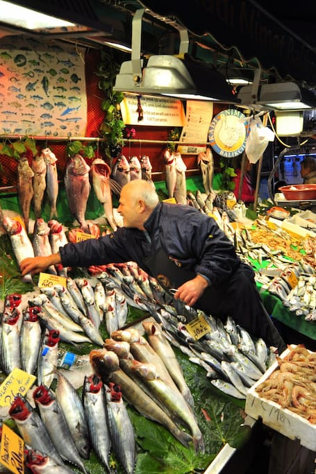 Fish Market in Kadikoy