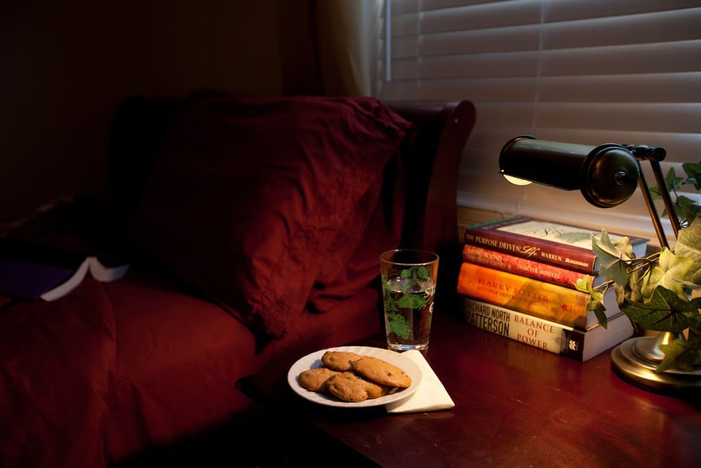 Relax with a good book before going to bed in the Harry Potter Room.