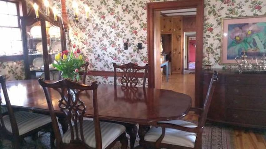 Space in Elegant  Antique Cape - Vassalboro - Huis
