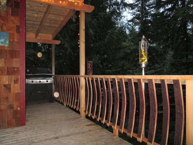 Very Cozy Cabin Close to Port Towns - Port Townsend - Blockhütte
