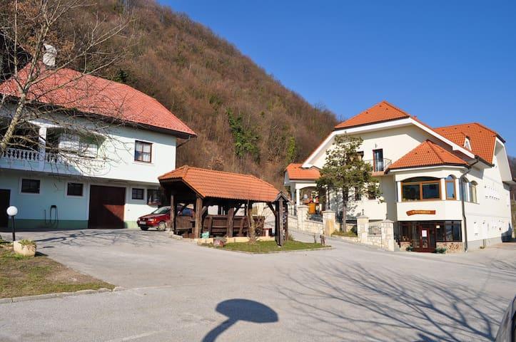 Tourist farm in nice sierra village - Podvrh - Oda + Kahvaltı