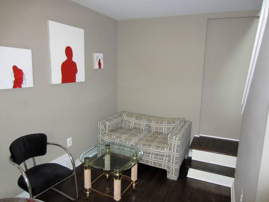 the Duplex living room