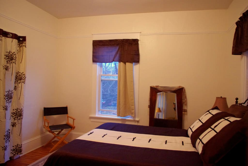Bedrooms feature queen beds and quality linens.