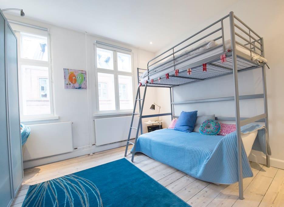 Værelse med 3 sove pladser
