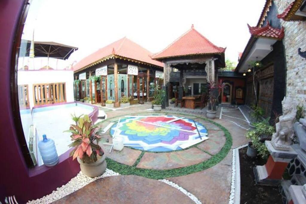 Hawaii Bali Hotel,Kuta Triple Room