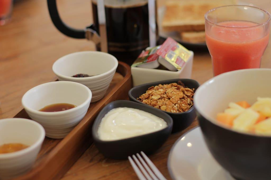 Breakfast at The Jumah