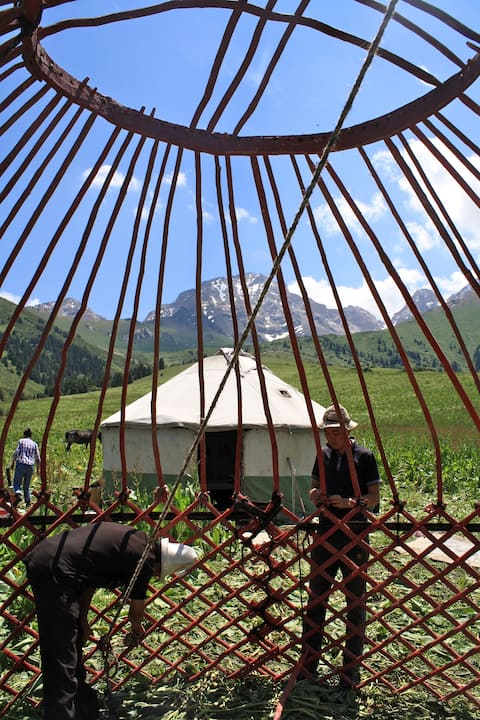 Authentic Nomadic Yurt Camp