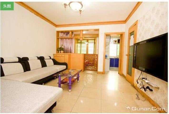 市中心钟鼓楼近地铁站回民街两室一厅套房 - Xian Shi - House