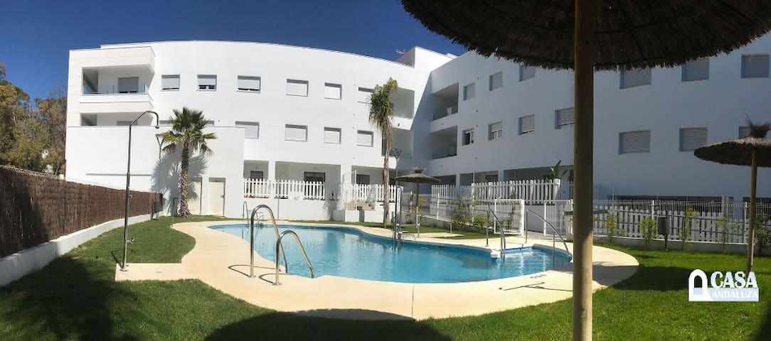 Vacacional apartment in Conil, Pool , 4 pers.