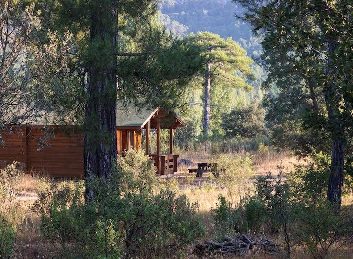 Cabañas Llano de los Conejos. Cabaña Grande 4