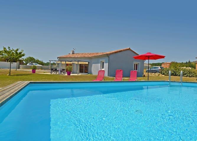 Villa 4/6p piscine privée jolie vue - Mirabel - บ้าน