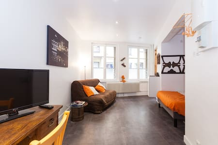 LOVELY FLAT PETIT FRANCE WIFI 3PERS - Strasbourg - Apartment