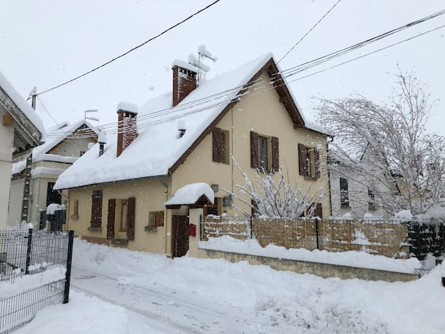 House with garden in the heart of the Cerdanya