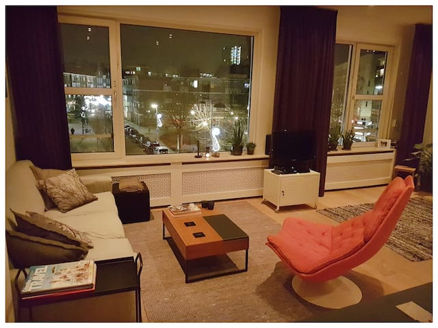 Great private appartement in centre of Rotterdam - Roterdã - Apartamento
