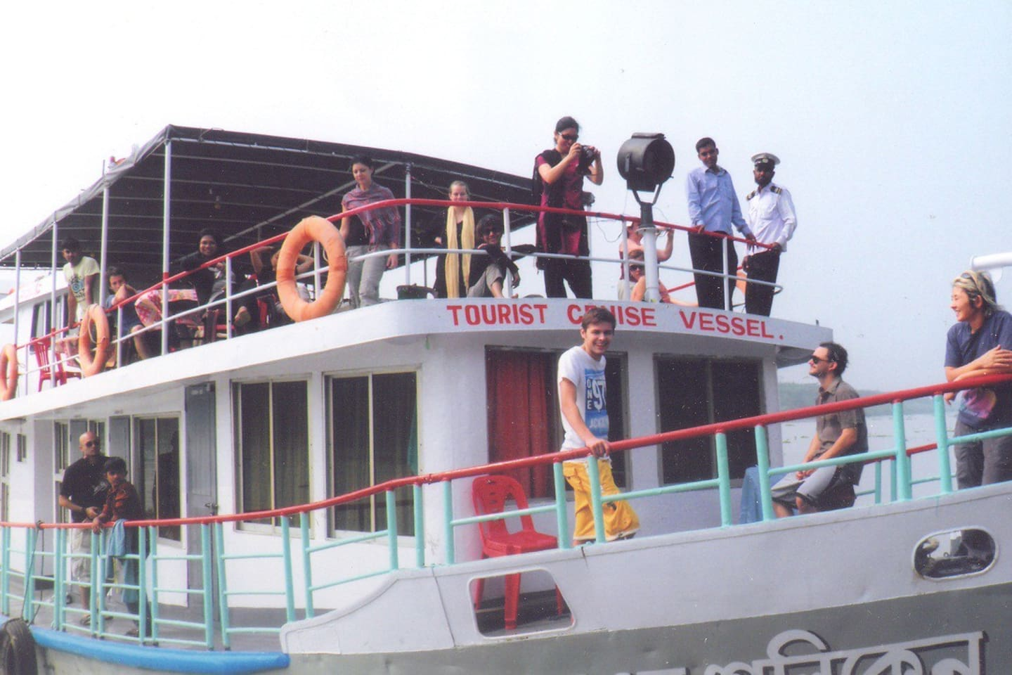 The cruise vessel