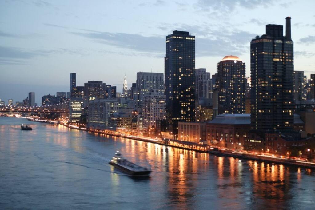 Manhattan view from Studio
